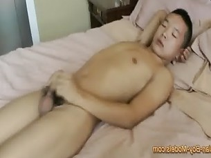 Fresh Asian Twink Boy Jerk Off