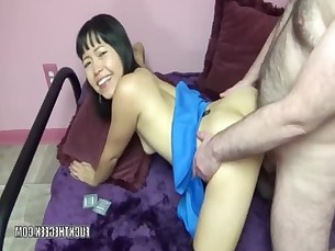 Asian Housewife Yuka Ozaki gets Stuffed with a Stiff cock - HD video