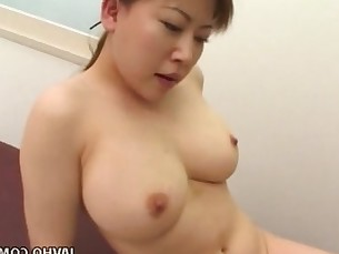 Real Asian nurse gets her cunt filled up with a cock