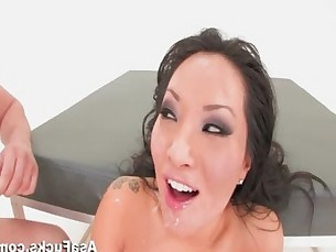 Asa Akira'_s Double Anal and Double Penetration
