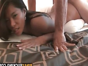 Asian Amateur Sucker Gets Fucked Doggystyle