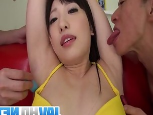 Hot Japanese porn along curvy Asira Nakano