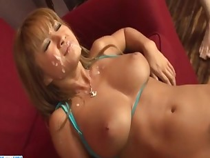 Serious pounding for curvy ass milf  Kurea Mutou