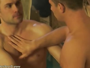 Intimate Erotic Gay Anal Massage For Him