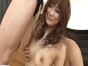 Misa Kikouden young girl pumped and made to swallow