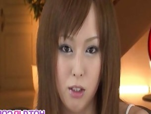 Ichika pretty Asian babe gets fondled and has many toy insertions