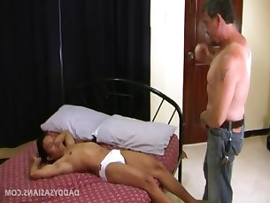 Daddy Fucks Asian Twink Alex