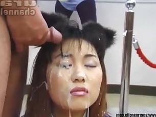 Bukkake Asian girls Compilation 2