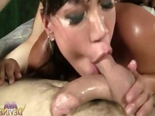 Ava Devine - Double Penetration and Deep Throat