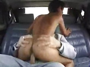 Hot Asian Car Fuck